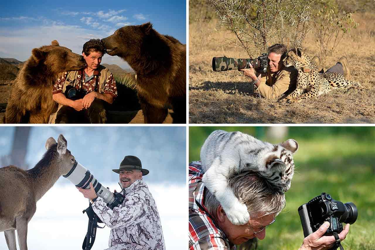 22 Photos That Caught The Magical Moment Between A Photographer And An Animal