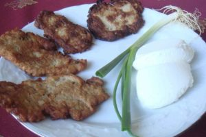 Spicy Cauliflower Patties