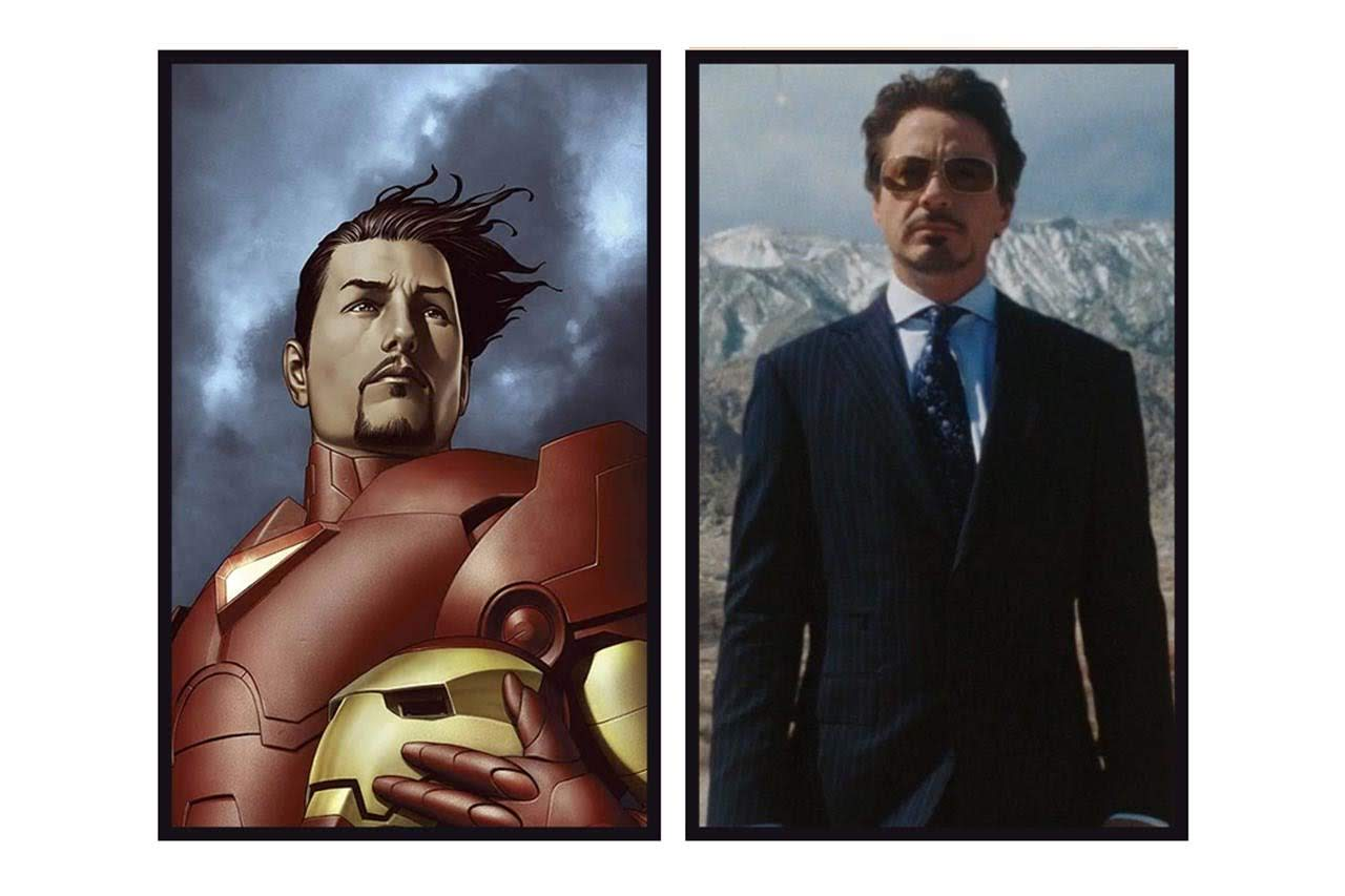 Superheroes From Marvel Movies Side By Side With Their Comic Counterparts