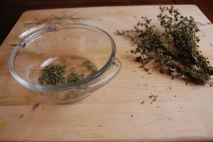 Thyme Cure For Pinworm